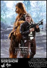 Hot Toys Star Wars Force Awak Chewbacca Han solo acconto PRENOTAZIONE PREORDER