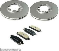For NISSAN ELGRAND 3.0 3.2 TD 3.3i E50 97-02 FRONT BRAKE DISCS & PADS SET