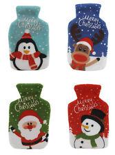 Christmas Design Reusable Hand Warmer with Fleece Cover