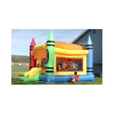 Inflatable Bounce Houses Bouncers Jumpers Blower Kids Party Play Slide Castle