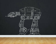 At At decal ATAT Sticker ATAT Walker Star Wars Decals Wall Stickers tr366
