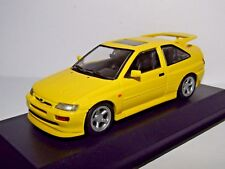 MAXICHAMPS FORD ESCORT RS COSWORTH 1992 YELLOW 1/43