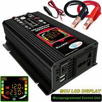 6000W Modified Sine Wave Power Inverter 6000 Watt DC 12V TO AC 220v-240V DISPLAY