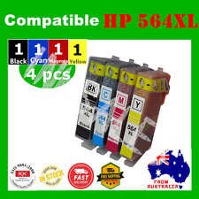 4x Ink Cartridges For HP 564XL Photosmart 3520 4620 5520 7520 6520 7510 HP564XL