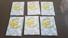 5 BOX COFANETTO LIBRETTI EURO MONEY PER  SERIE COMPLETE NUOVI NEWS