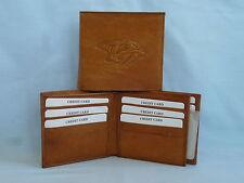 NASHVILLE PREDATORS    Leather BiFold Wallet    NEW    brown 4+