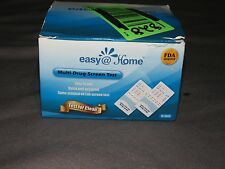g1 Easy @ Home Multi-Drug Screen Test THC AMP BZO OPI 2000 15 Tests Exp 10/2017