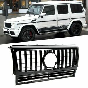 51B FRONT BUMPER GRILLE FOR 1990-2018 BENZ G-CLASS W463 WAGON G500 G550 GT-R AMG