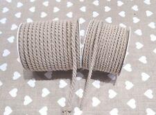 Cordino intrecciato decorazione corda naturale rifinitura borse