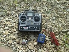 Futaba FF6 35Mhz RC transmitter PCM R146iP mini receiver  and charger