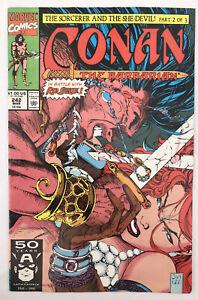 Conan The Barbarian #242 - Jim Lee Cover - Marvel Comics
