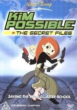 Kim Possible - The Secret Files (DVD, 2004) - Very Good Condition