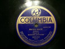 MARCONI BROTHERS WEDDING OF THE WINDS & SKATERS WLATZ 78 COLUMBIA A3526