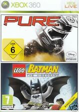 [ XBOX 360 ] PURE + BATMAN BUNDLE - NUOVO