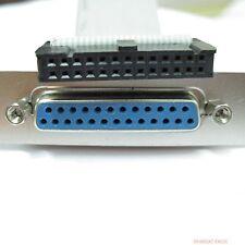 for ASUS Gigabyte MSI Printer Port LPT Cable Bracket
