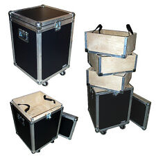 """ATA Accessory Case With 3 Lift-Out Trays - 1/4"""" Medium Duty w/Wheels"""