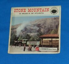 vintage STONE MOUNTAIN GEORGIA VIEW-MASTER REELS packet