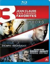 Cyborg Death Warrant Double Impact Blu Ray Region 1 S