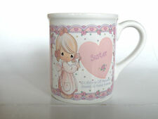 "Precious Moments ""Sister"" Mug Enesco"