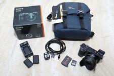 Sony Alpha a6300 24.2MP Digital Mirrorless Camera - Black (Kit w/ 16-50mm Lens)