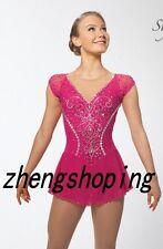 Figure Skating Dress/Competition Ice Skating Dress sparkle stones design 8938