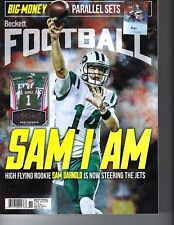 Sam Darnold New York Jets Beckett Sports Card Football rookie magazine 2018