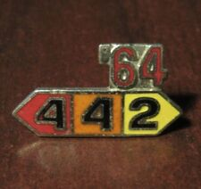 Vintage 1964 Oldsmobile 442 Hat Lapel Pin