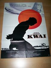 ZURÜCK VOM RIVER KWAI - Kinoplakat A1 ´89 - EDWARD FOX