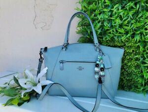 Coach PRARIE leather crossbody satchel Purse shoulder handbag 79997