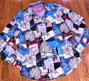 ROBERT GRAHAM AUTHENTIC MENS BRAND NEW ORIGINAL DRESS SHIRT Size L (LARGE), NWT
