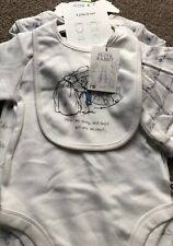 Mothercare Peter Rabbit Beatrix Potter 4-piece Set 9-12 Months