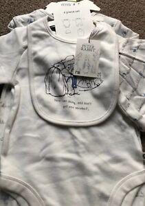 Mothercare Peter Rabbit Beatrix Potter 4-piece Set 9-12 Months