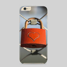 Love Lock Heart Crafted Phone Case Cover