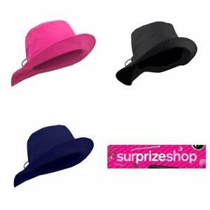 Surprizeshop Ladies Winter Golf Waterproof Rain Hat. Pink, Navy or Black.