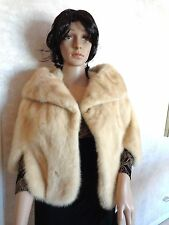 Bolero Blond Mink labeled Exclusively for Kaufman's of Chicago. (#0308)