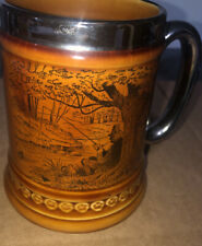 Antique Lord Nelson Pottery England Stein #9-70 Fisherman