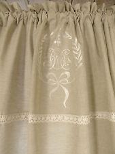 Vorhang Amalie Sand Gardine 120x240 Lillabelle Shabby Curtain Landhaus