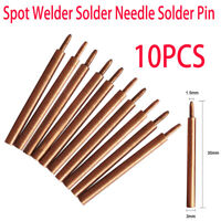 10pcs Spot Welding Pin Solder Needlein For Sunkko 709A D 788H 737G + Spot Welder