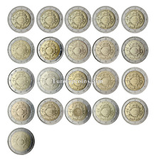 """#RM# 2 EURO COMMEMORATIVE """"TEN YEARS OF EURO"""" 2012 - ALL PIECES - PLEASE CHOOSE"""
