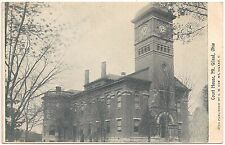 Court House in Mt. Gilead OH Postcard
