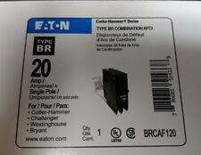 Eaton Cutler Hammer BRCAF120 Arc Fault 20 Amp Breaker Type BR AFCI