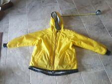 Vintage Nike Windbreaker Jacket Size M 8-10 Sweet Yellow And Black Color!