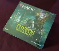 THEROS BEYOND DEATH BUNDLE w/ 10 Booster Packs SEALED - MTG Magic FAT PACK