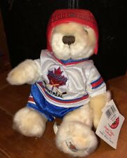Hard Rock Cafe Montreal Hockey Player City Bear NWT number 388