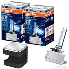 Osram D1S CBI Xenon Brenner 6000K 2St. 66140CBI + CUBY LED Taschenlampe