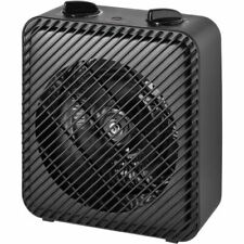 1500W PORTABLE ELECTRIC HEATER Home Fan Forced Heating W/ Adjustable Thermostat