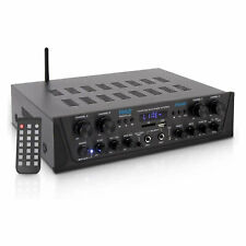 Pyle PTA44BT Bluetooth Home Audio 500 Watt 4 Channel Amplifier Stereo Receiver