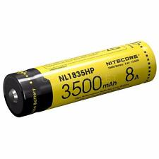 Nitecore NL1835HP 3500mAh Protected 18650 Rechargeable Battery Concept 1, TM28