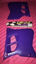 Yz 125 250 1993 1994 1995 Radiator Shrouds Covers Nos Ufo Purple Yamaha Evo
