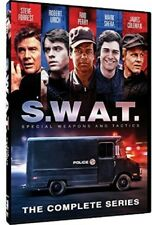 S.W.A.T. Season 1 and 2 Series One Two First Second (Steve Forrest) SWAT New DVD